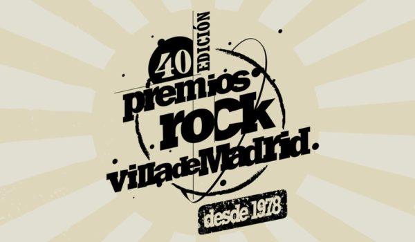 PREMIOS ROCK VILLA DE MADRID