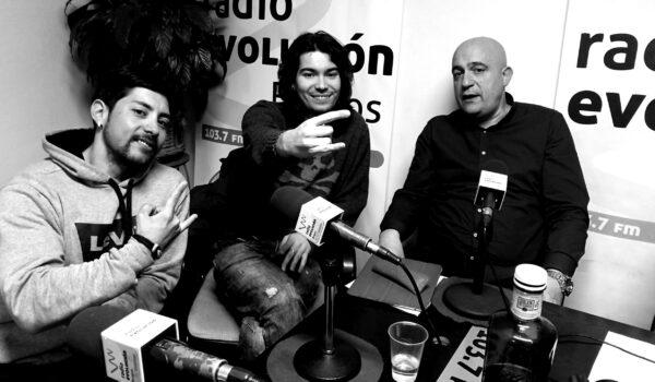 Arcánima en Radio Evolución Burgos